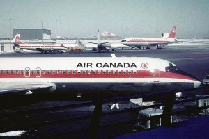 Air Canada' s First L-1011 – Sal