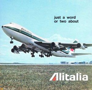 Alitalia Boeing 747-143
