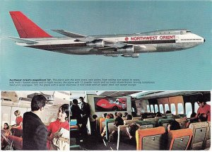 Northwest Orient Airlines, Boeing 747