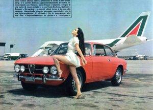 Alitalia & Alfa Romeo 1750 GTV