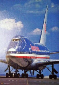 American Airlines Boeing 747SP Pic
