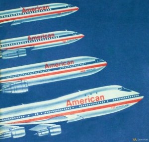 American Airlines Luxury Liner
