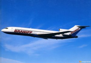 Braniff Boeing 727-200