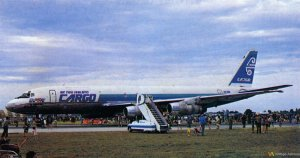 Air New Zealand Cargo DC-8