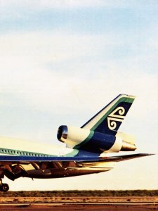 Air New Zealand DC-10 Tail