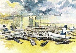 Sabena Jet-Age Artist Rendition