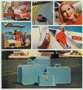 Lady Baltimore Luggage 1960s