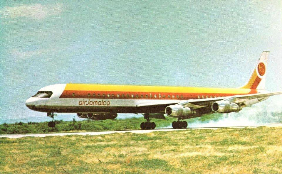 Air Jamaica DC-8