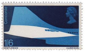Special Commemorative Concorde Postage Stamps