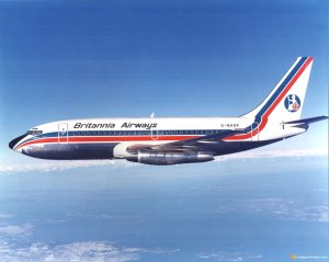 Britannia Airways Boeing 737-204