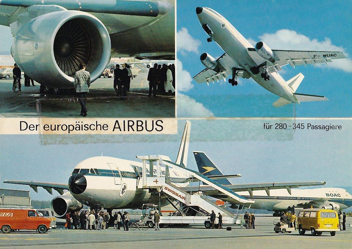 Airbus Postcard