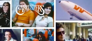 Western Airlines in Carpenters Music Video