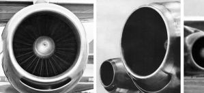 DC-8 Engine Start-up Sound