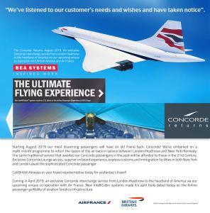 Concorde Returns!