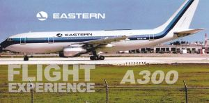 Eastern Air Lines A300 Flight – Charlotte to New York