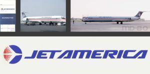 Jet America (+VIDEOS) Landing Chicago