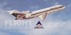 Flight Experience: Delta Airlines 727 Flight – Charlotte to Atlanta