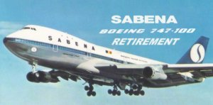 Read more about the article SABENA Belgian World Airline B747-100 Retirement (+VIDEO)