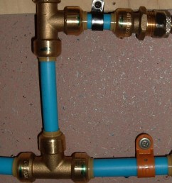 let me tell you a story about pex i ve sweat soldered copper pipe fittings in all the houses i ve worked on but i chose to use pex this time owing to it  [ 1000 x 1333 Pixel ]