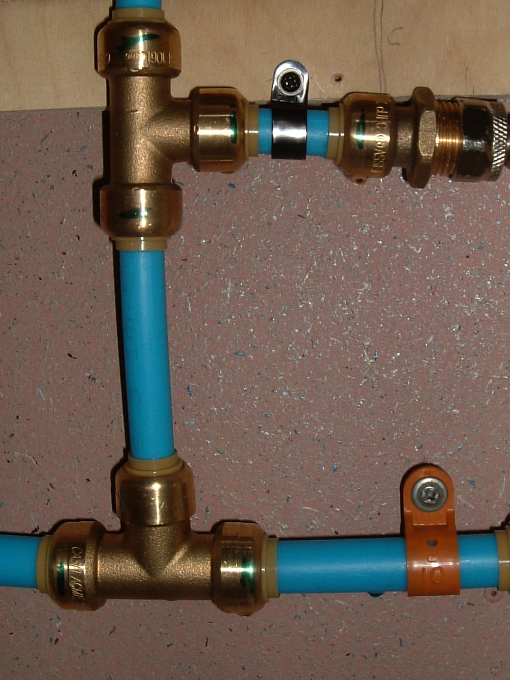 hight resolution of let me tell you a story about pex i ve sweat soldered copper pipe fittings in all the houses i ve worked on but i chose to use pex this time owing to it
