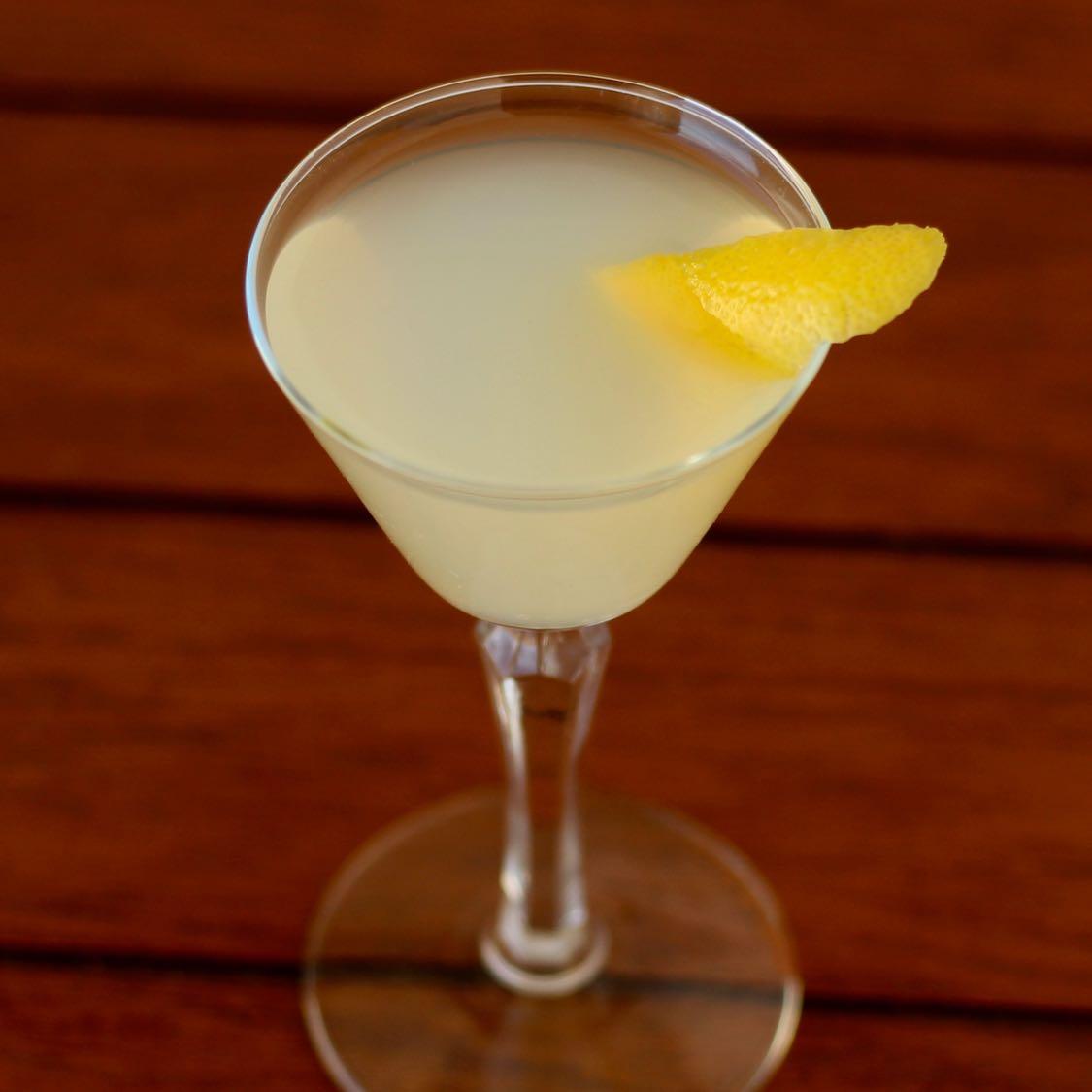 Lemon Drop Martini - Original 1970s Norman jay Hobday Recipe