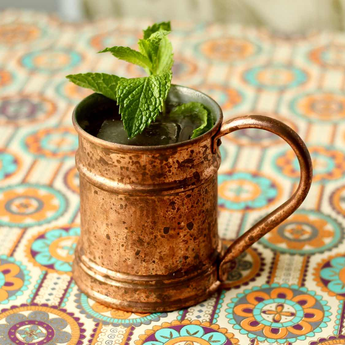 Mayan Mule - A Tequila Variation of the Moscow mule