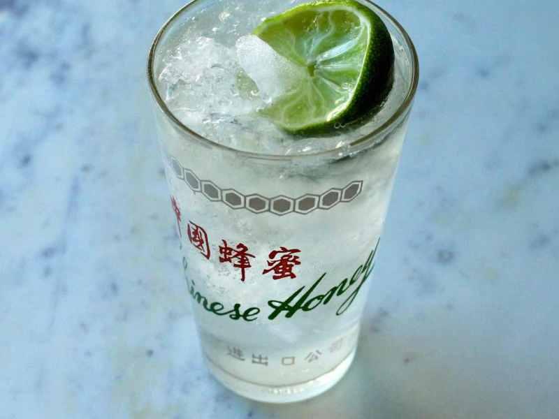 Rum Rickey