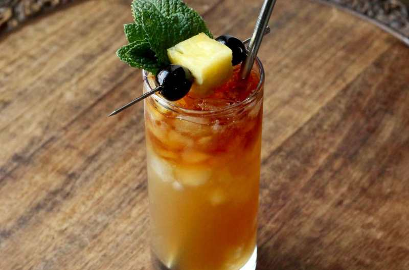 Zombie Cocktail - Classic Don The Beachcomber Tiki Cocktail