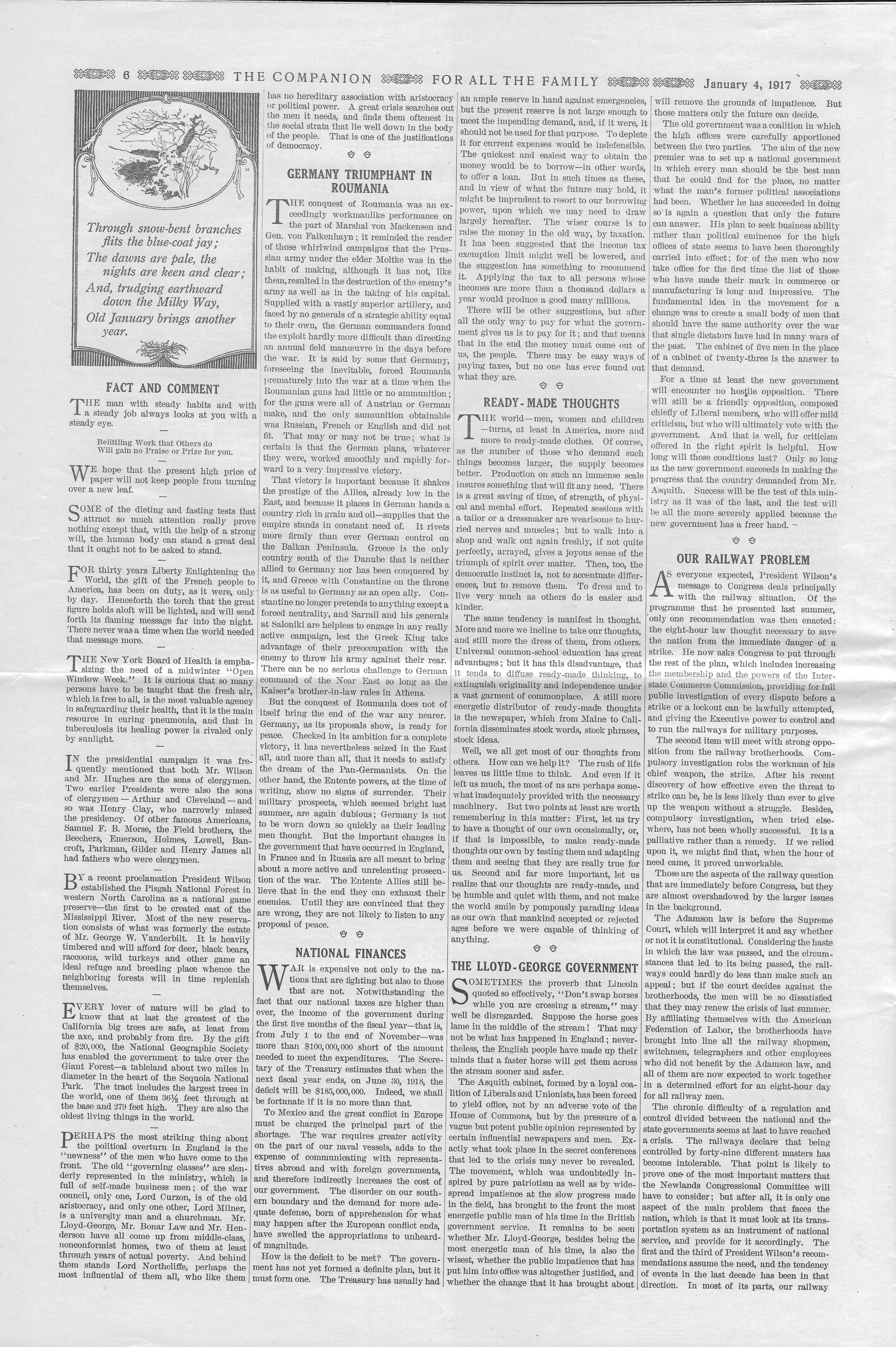 The Youth's Companion - January 04, 1917 - Page 6