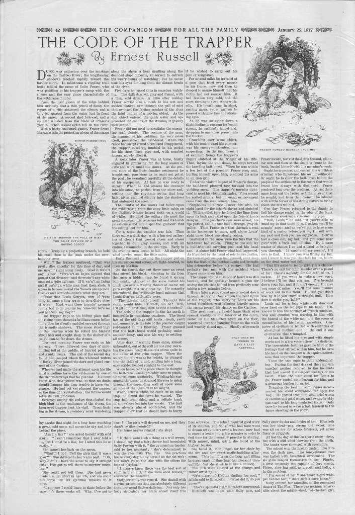 The Youth's Companion - January 25, 1917 - Page 42