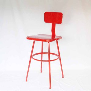 AlegriaCollection ~ Vintage Industrial Drafting Stool