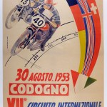 Motorcycle Vintage Auto Posters