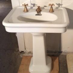 33 X 22 Kitchen Sink Cleveland Cabinets Pedestal Sinks | Vintagebathroom