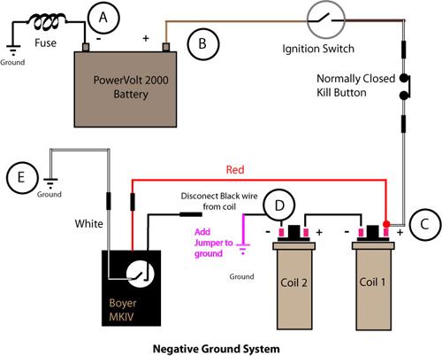 1971 triumph bonneville wiring diagram james watt steam engine vintage bike magazine how to troubleshoot a boyer ignition 16 voltagedropnegweb1