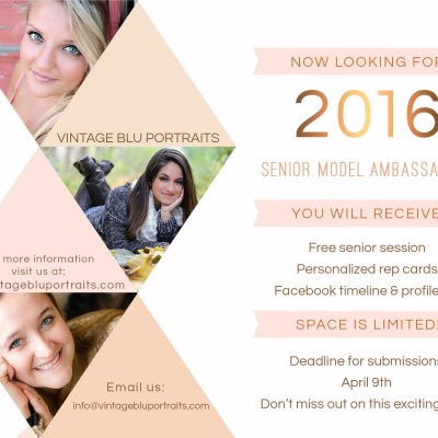 2016 Senior Ambassadors Wanted!