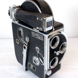 Paillard Bolex H-16 16mm Early Model Movie Camera 1936