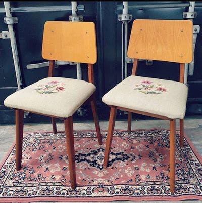 Geborduurde Stoeltjes | Vintage Brabant