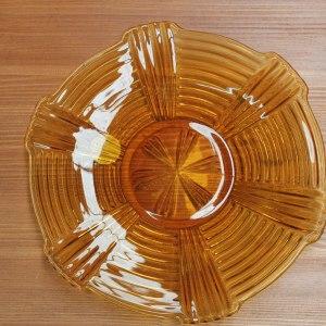 Okergeel bord | Vintage Brabant