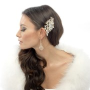 bridal hair accessories vintage