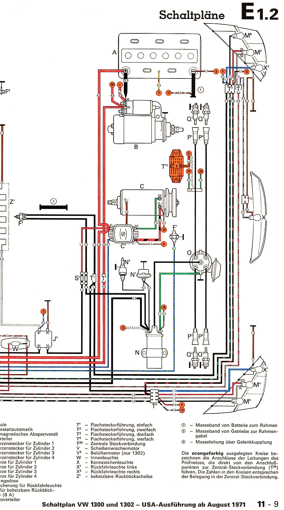 hight resolution of 67 vw bus wiring diagram 67 vw bus seats wiring diagram vw generator to alternator conversion vw generator to alternator conversion