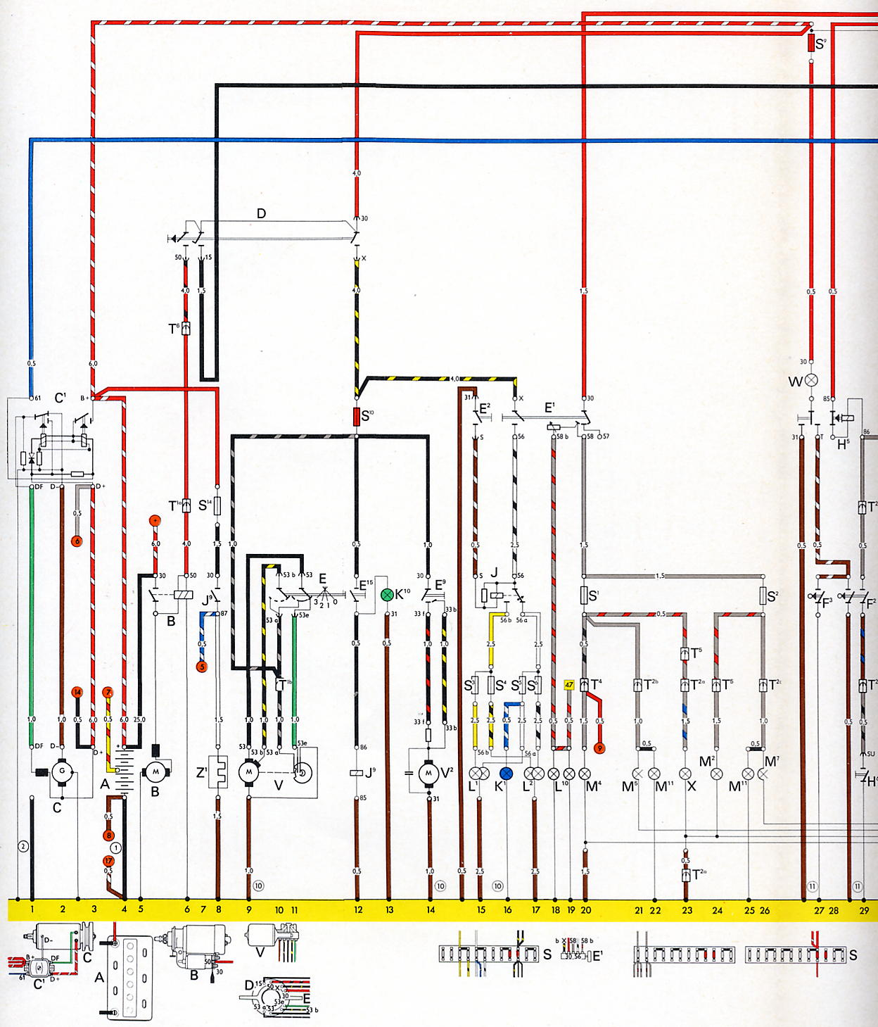 hight resolution of 73 super beetle voltage regulator shoptalkforums com rh shoptalkforums com kohler voltage regulator wiring diagram dodge