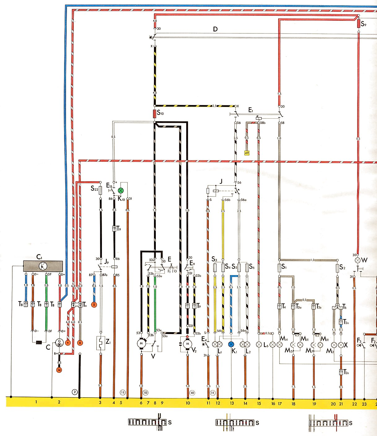 hight resolution of 73 super beetle voltage regulator shoptalkforums com rh shoptalkforums com dodge voltage regulator wiring diagram ford