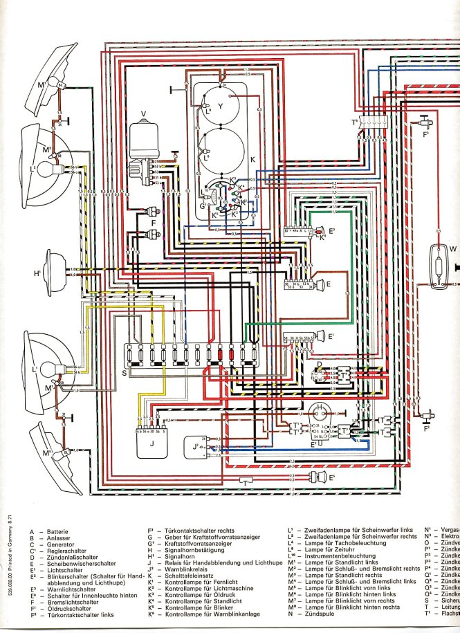 vw beetle wiring diagram image wiring 1972 vw beetle wiring diagram 1972 auto wiring diagram schematic on 1972 vw beetle wiring diagram