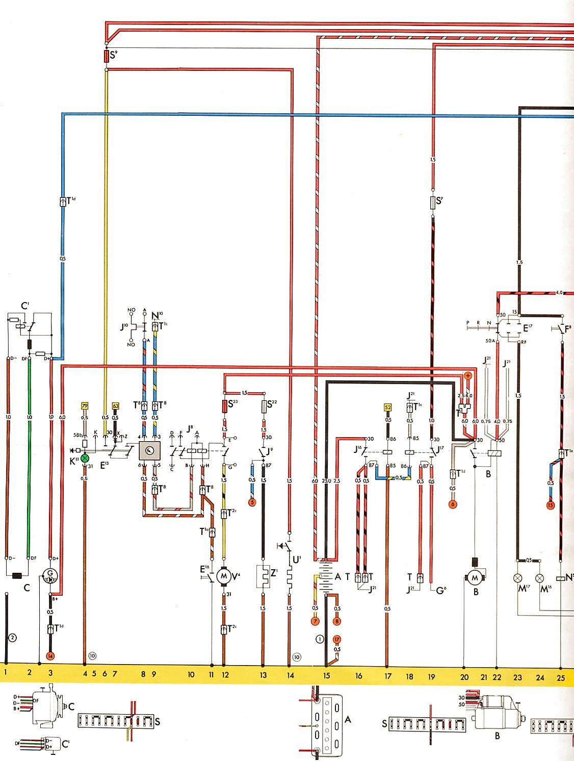 1973 vw bus wiring diagram vga to hdmi converter vintagebus type 2 usa from august 1
