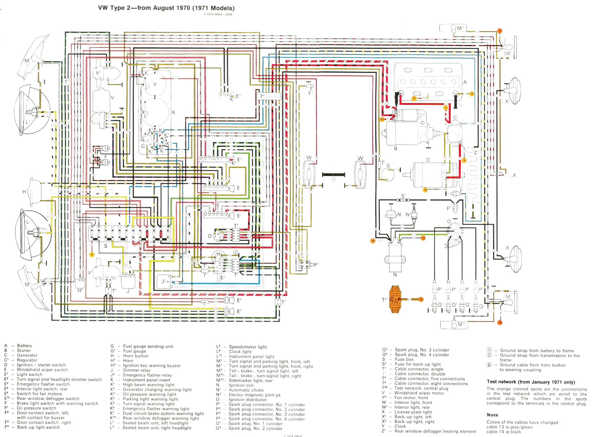 1971 vw bus wiring diagram electrics t25 starter into a 72 baywindow forum can am outlander 650 71 fuse box library