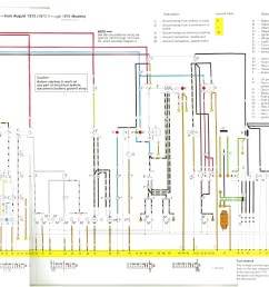 baywindow fusebox layout 2013 vw passat fuse schematic august 1972 1973 through 1975 models  [ 3528 x 1672 Pixel ]