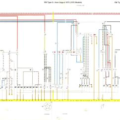 1978 Vw Bus Wiring Diagram Motorguide Baywindow Fusebox Layout August 1975 1976 1977 And Models 1979 Part 2 3