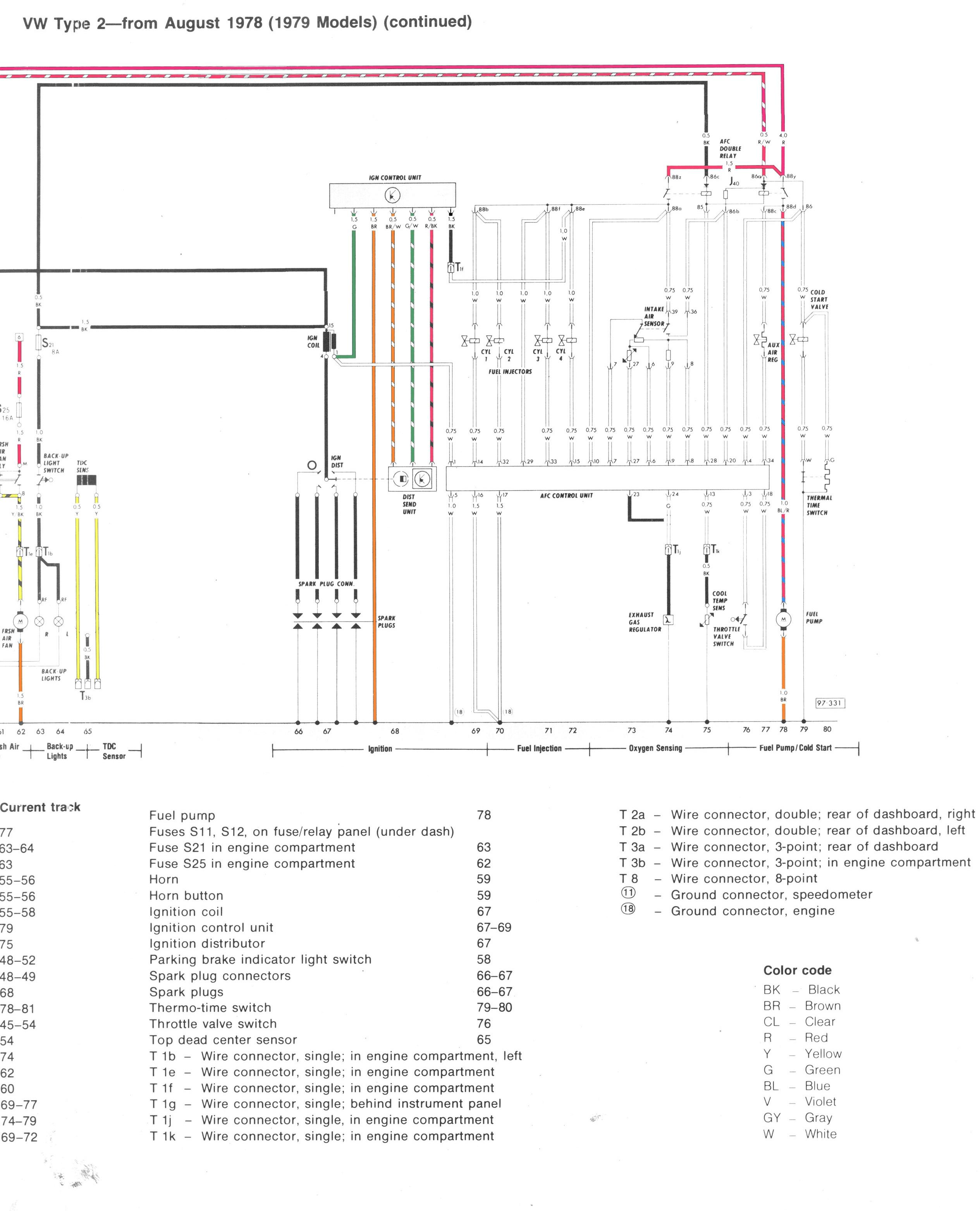 vw t3 diesel wiring diagram