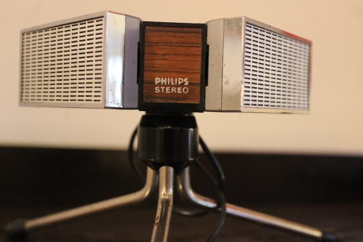 Microphone dynamique stéréo by Philips – 1970