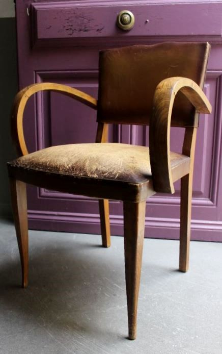 Fauteuil bridge 1950  Vintage by fabichka